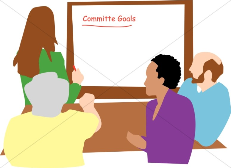 776x565 Committee Goals Meeting Church Management Clipart