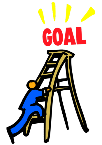 350x499 Achieving Our Goals Clipart