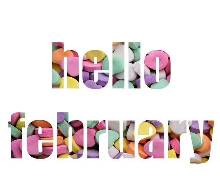 720x607 Clip Art February