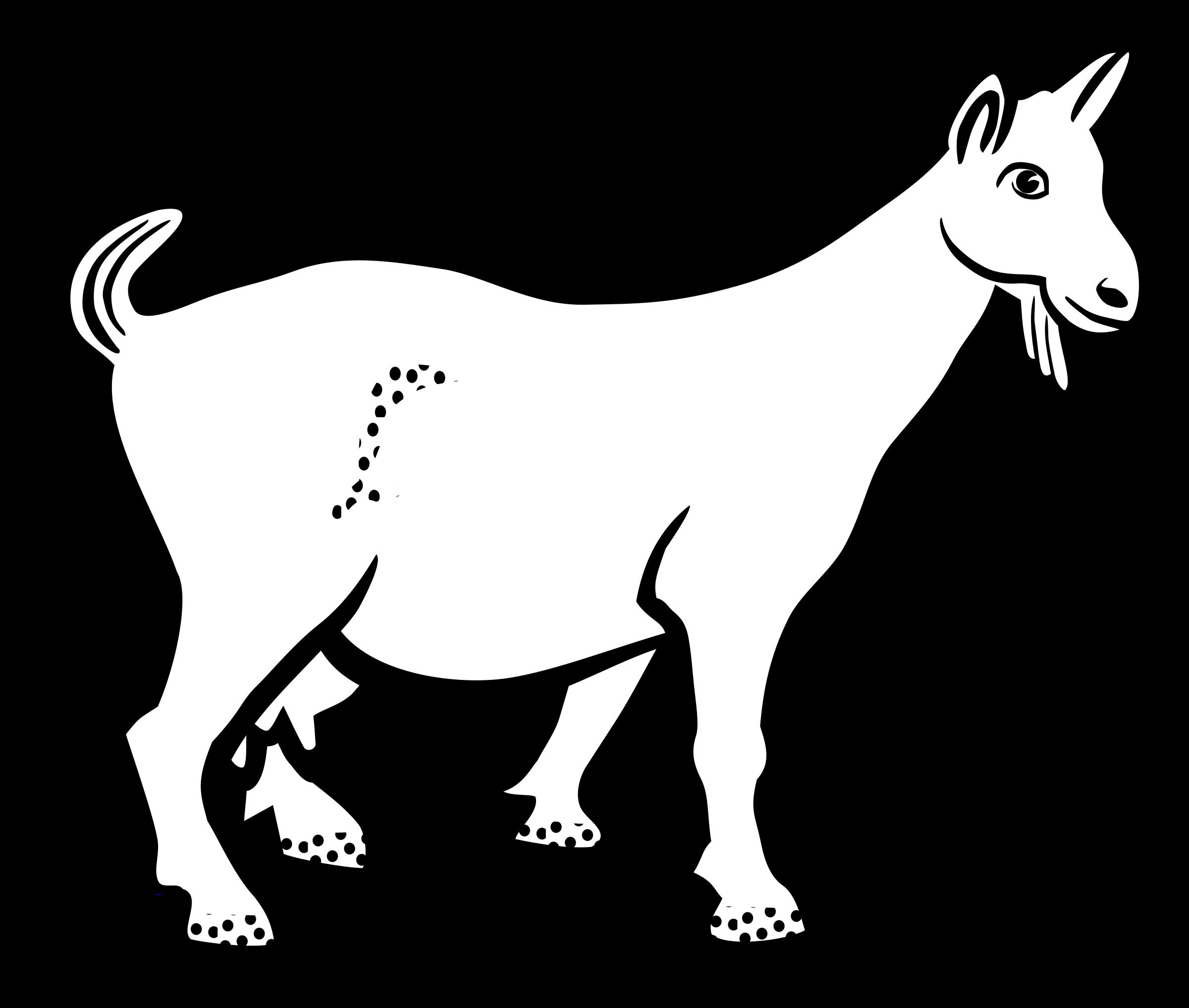 2400x2034 Goat Clipart Club