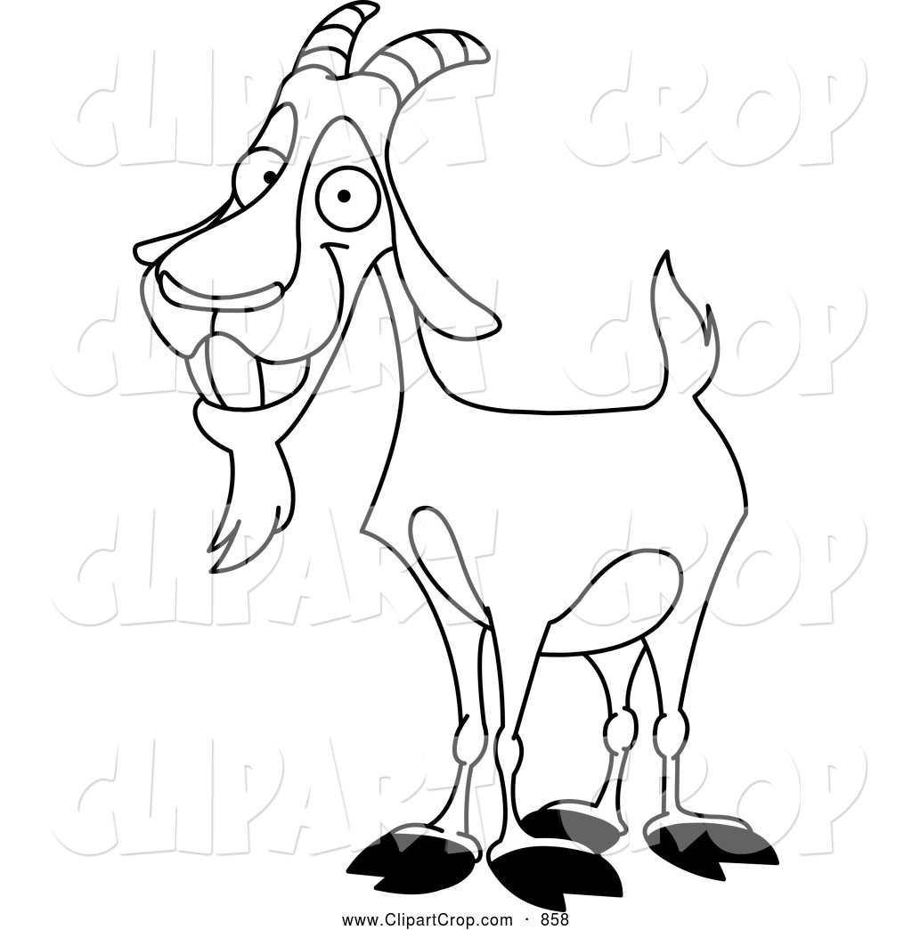 1024x1044 Old Goat Clipart