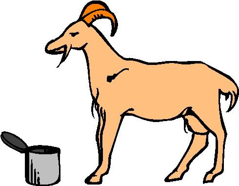 490x381 Cute goat clipart free clipart images 3 clipartix