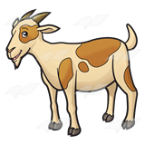 160x160 Goat Clipart Transparent