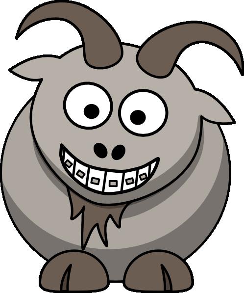 498x597 Ortho Goat Clip Art