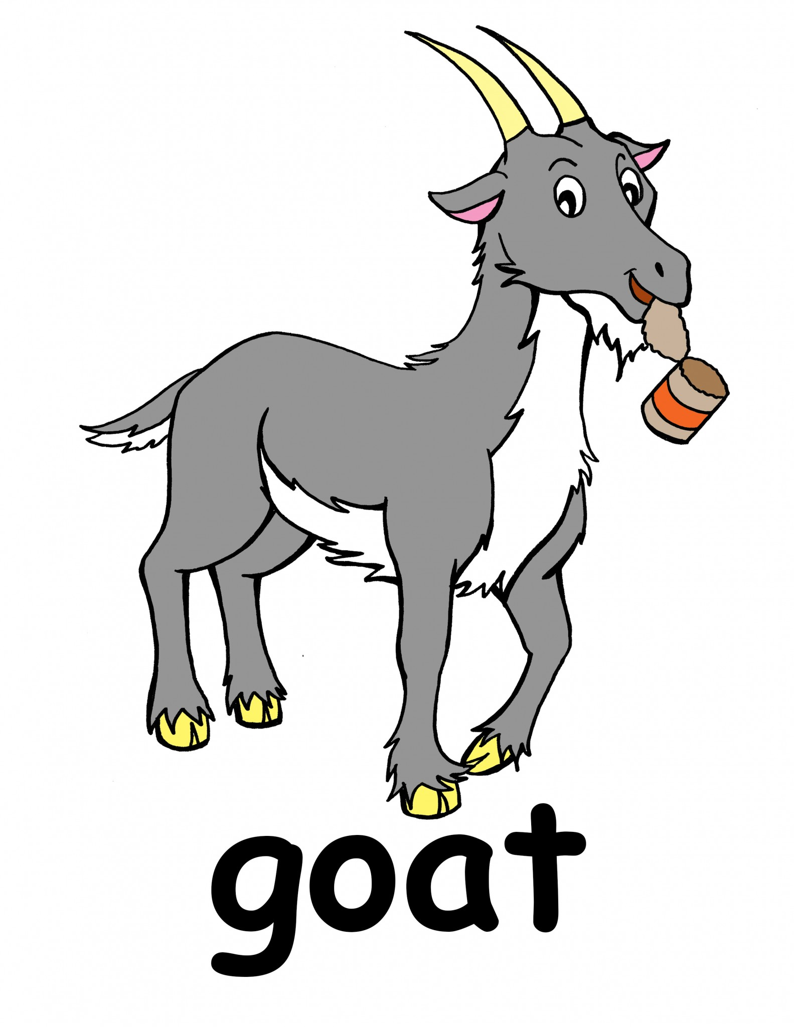 1583x2048 Clip Art Goat Clipart Collection