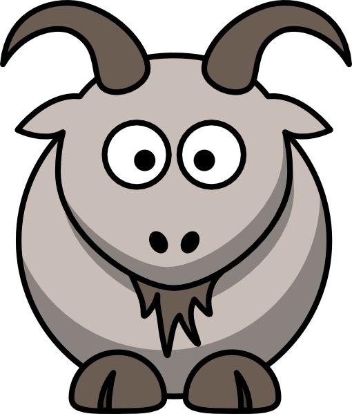 510x599 Clipart Goats