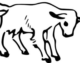 336x265 Goat Line Art Vector Clip Art Free Vector Free Download