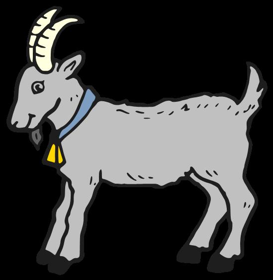 549x564 Goat Clipart