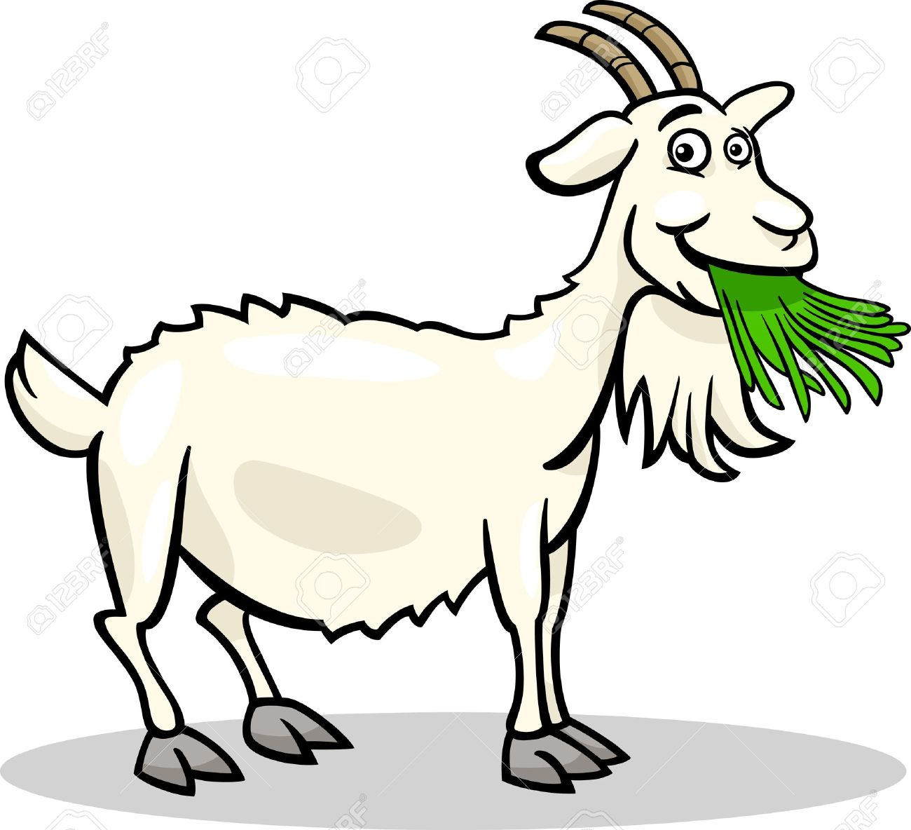 1300x1184 Goat Clipart Funny