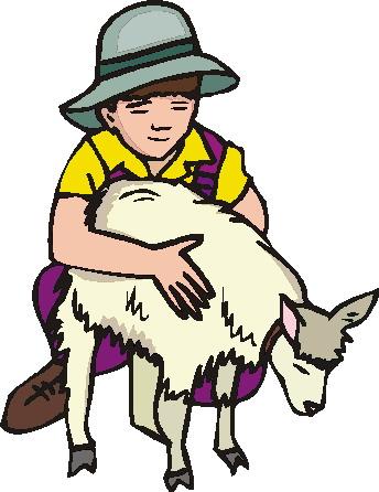 344x446 Goats Clip Art 4