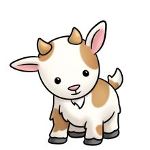 220x220 Silly Goat Cliparts 257565
