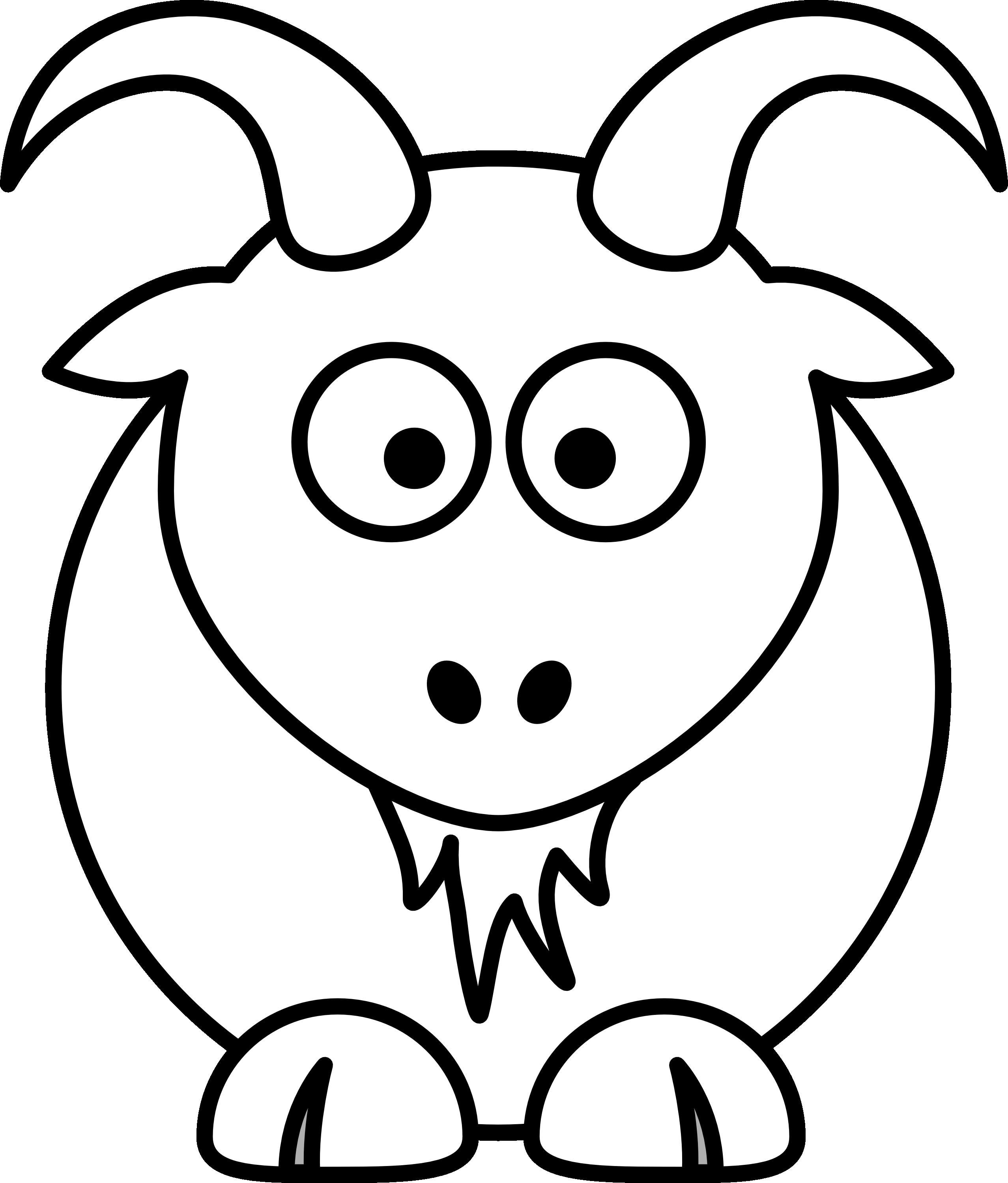 2555x2998 Top 78 Goat Clip Art