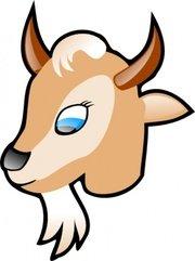 180x241 Goat Clip Art, Vector Goat