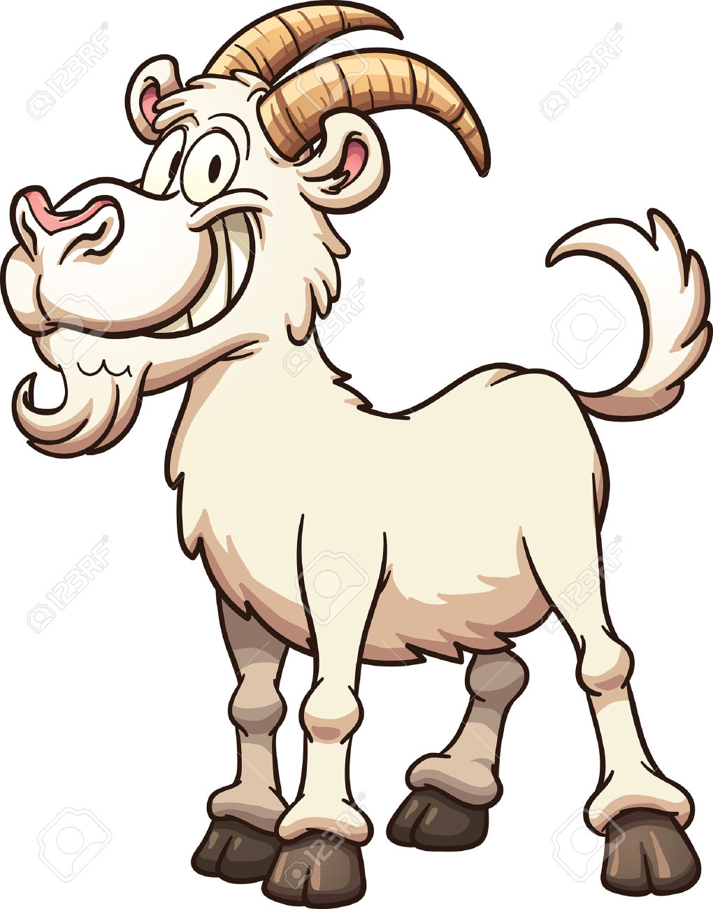 1020x1300 Fight Clipart Goat