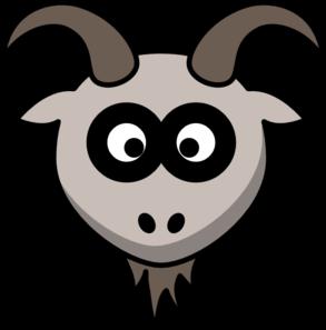 293x297 Goat Head Clip Art