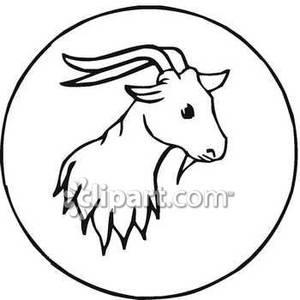 300x300 Goat Head Clip Art Cliparts