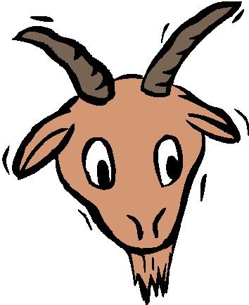 354x433 Goat Clipart Goat Head