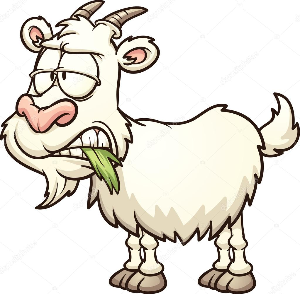 1023x1004 Cartoon Goat Stock Vector Memoangeles