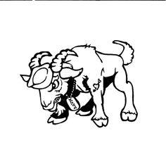 236x226 Navy Goat Clip Art