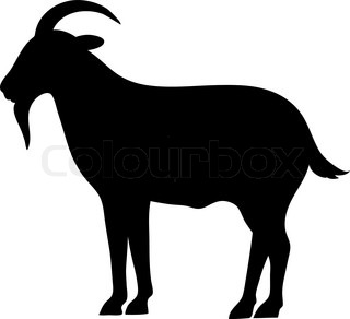 320x292 She Goat Stock Vector Colourbox
