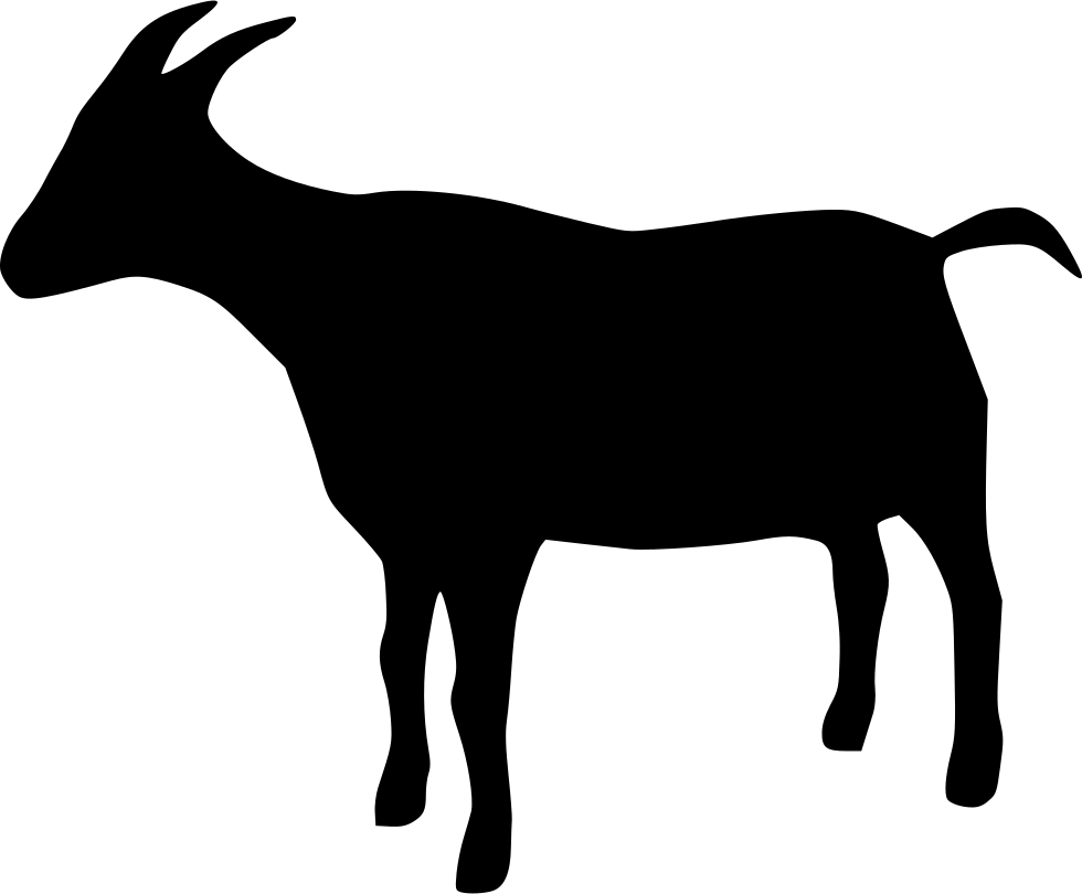 980x810 Goat Svg Png Icon Free Download ( 438625)