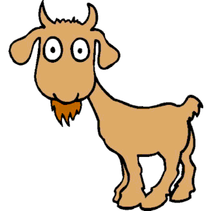 300x300 Goat Clipart, Cliparts Of Goat Free Download (Wmf, Eps, Emf, Svg