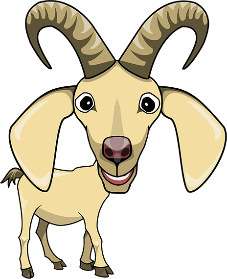 464x569 Goat Clipart Transparent Background