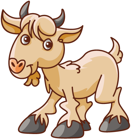 440x470 Graphics For Goat Cartoon Graphics