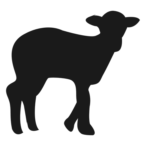 512x512 Goat Silhouette 1
