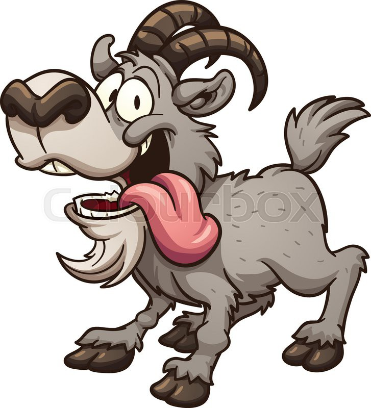 727x800 Crazy Goat Clipart, Explore Pictures