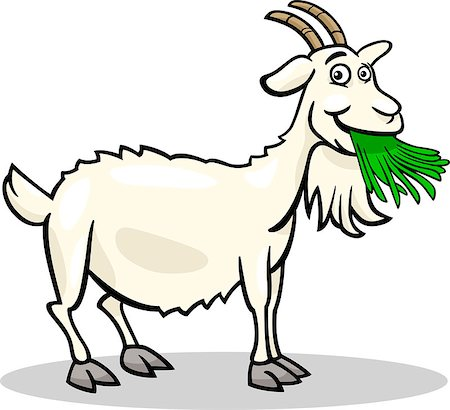 450x410 Silly Goat Cliparts 257573