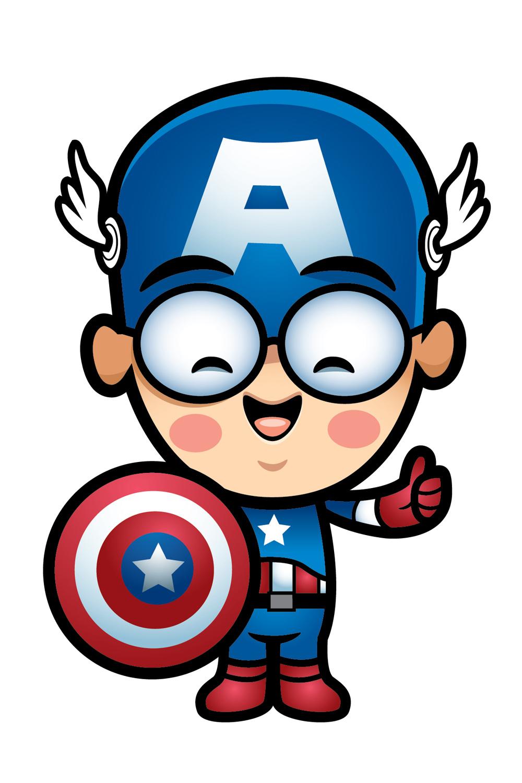 1000x1500 Captain America Clipart