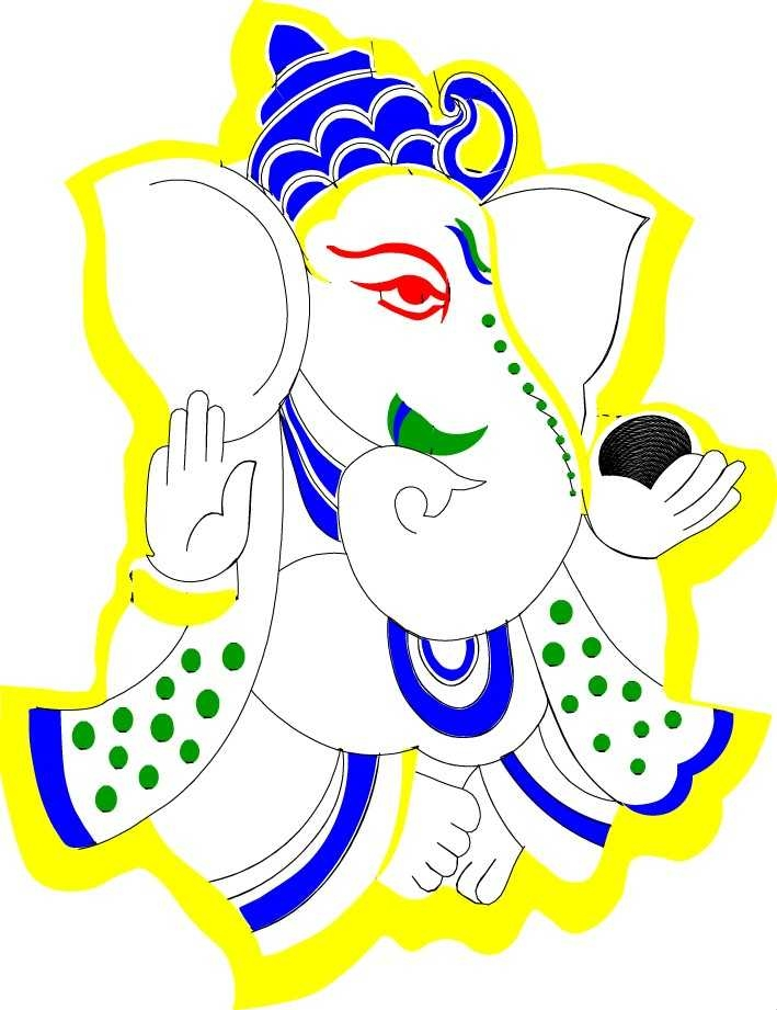 709x921 God Ganesha Clipart Collection On Ganesh Clip Art Free Download