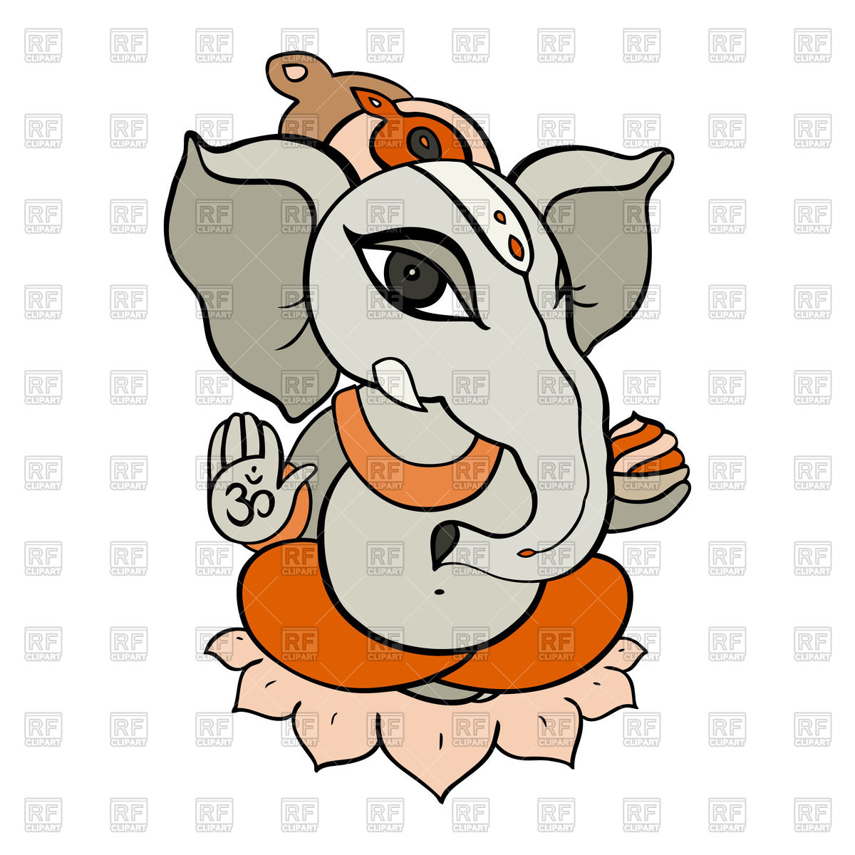 1200x1200 Cartoon Hindu God