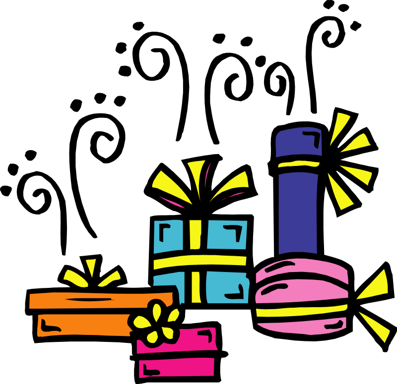 800x775 Free Birthday Birthday Present Clip Art Clipart