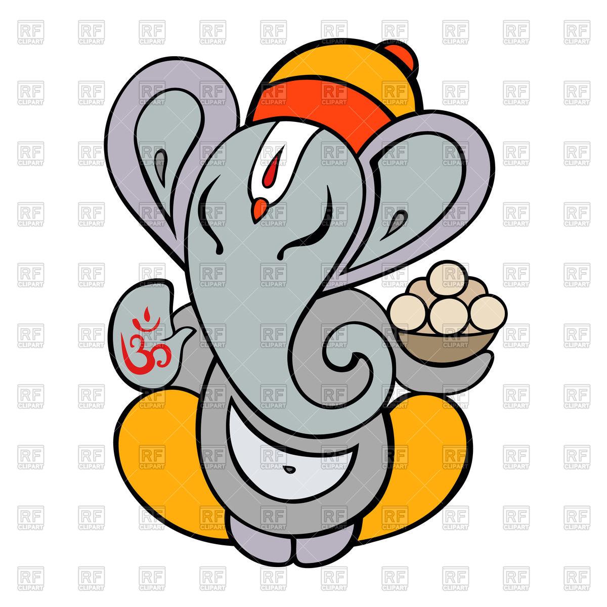 1200x1200 Ganesh Hindu God Clip Art Cliparts