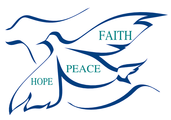600x424 Peace, Faith And Hope Clip Art