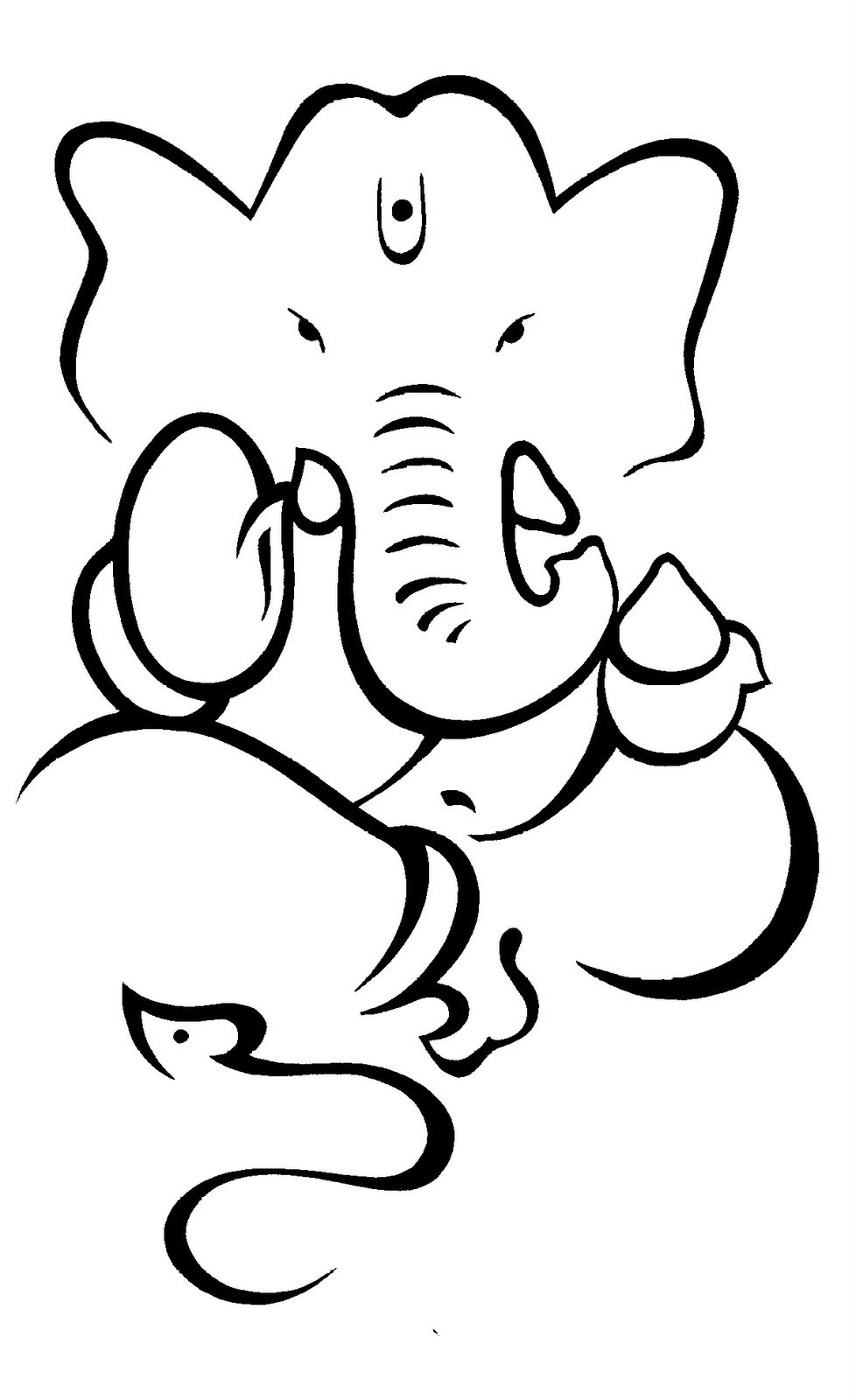978x1600 how to draw lord ganesha