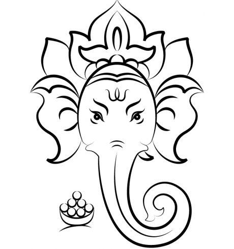 460x490 108 Best Ganesha Images Ganesh Tattoo, Demons 2