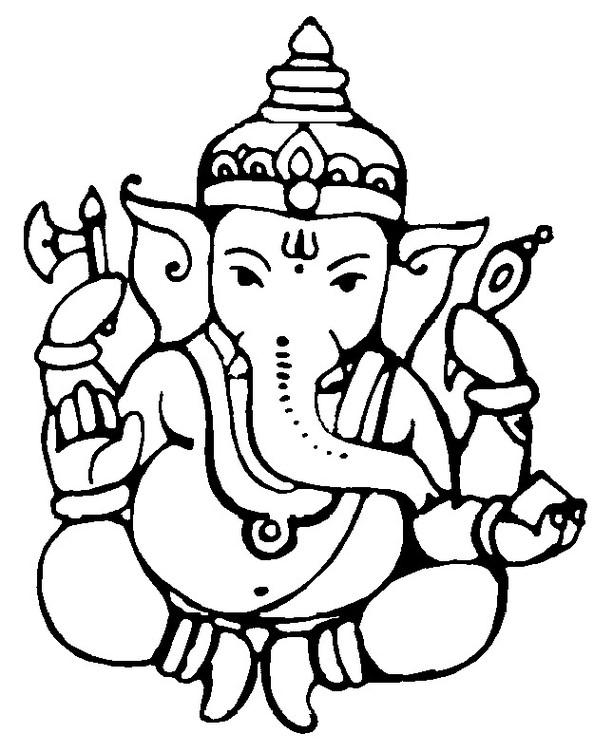 613x752 Lord Ganesha Drawing Pictures, Images, Photos My Lord Pics