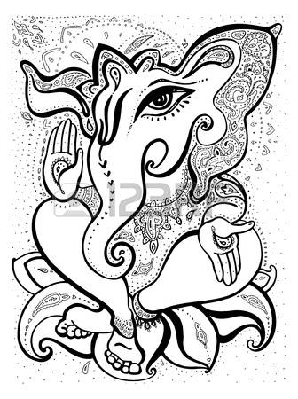 336x450 Pictures How To Draw Ganesha,