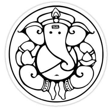 375x360 Best Ganesha Drawing Ideas Ganesha, Ganesha