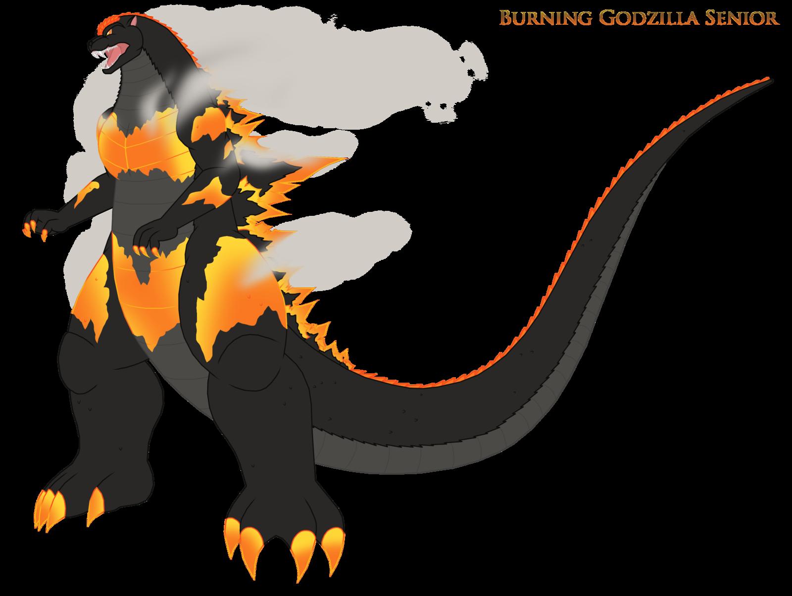 1600x1204 Burning Godzilla Senior By Pyrus Leonidas