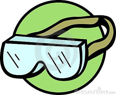 400x329 Goggles Clipart Symbol