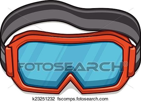 450x327 Ski Goggles Clipart Royalty Free. 1,245 Ski Goggles Clip Art