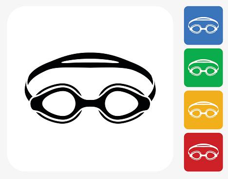 468x369 Swim Goggles Clipart