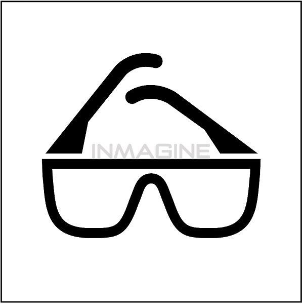 597x600 Goggles Clipart Lab
