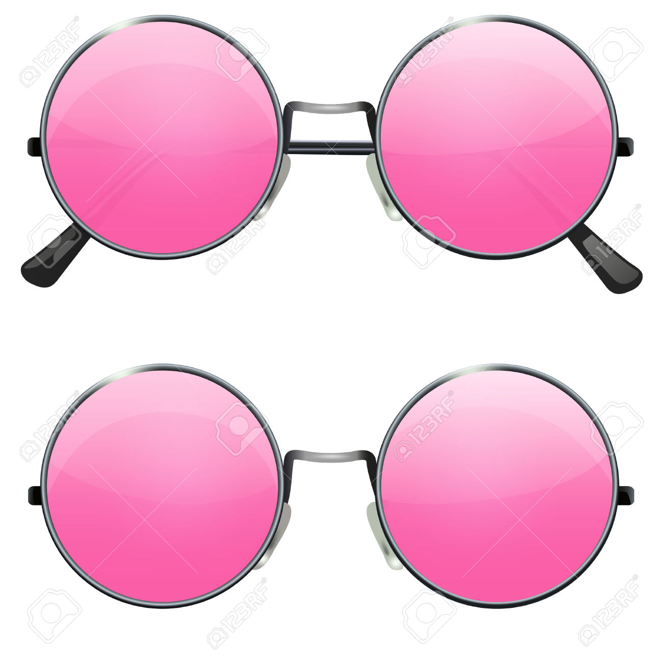 1283x1300 Goggles Clipart Pink