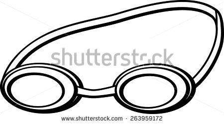 450x249 Goggles Clipart Swimmer