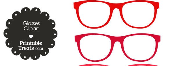 610x229 Red Glasses Cliparts Many Interesting Cliparts